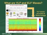 what are vlf and elf waves
