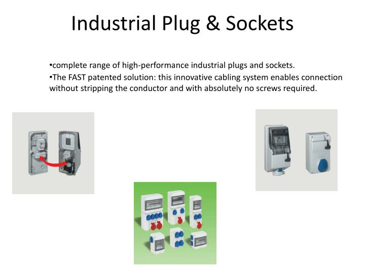 Industrial Plug & Sockets