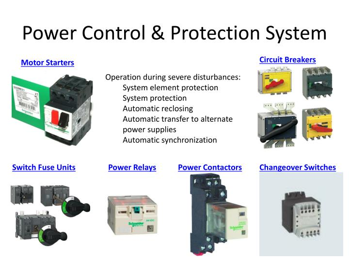 Power Control & Protection System