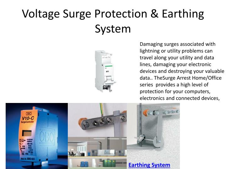 Voltage Surge Protection &