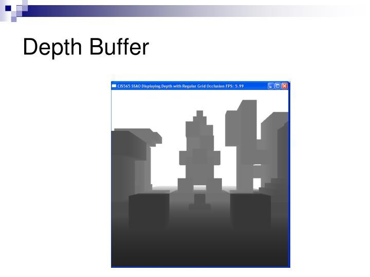 Depth Buffer