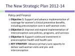 the new strategic plan 2012 143