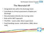 the n eonatal ap