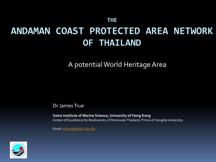 a potential world heritage area n.