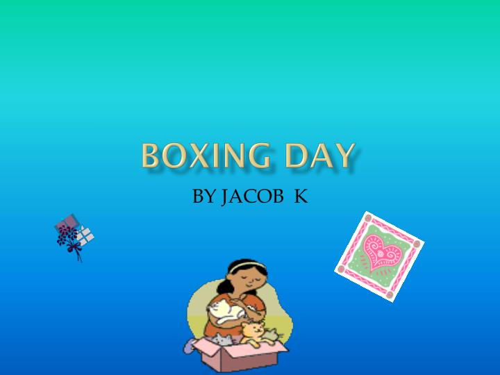 boxing day n.