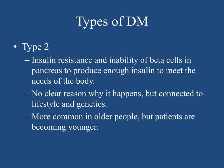 Types of dm1