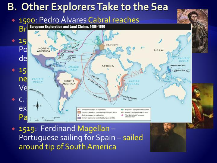 B.  Other Explorers Take to the Sea