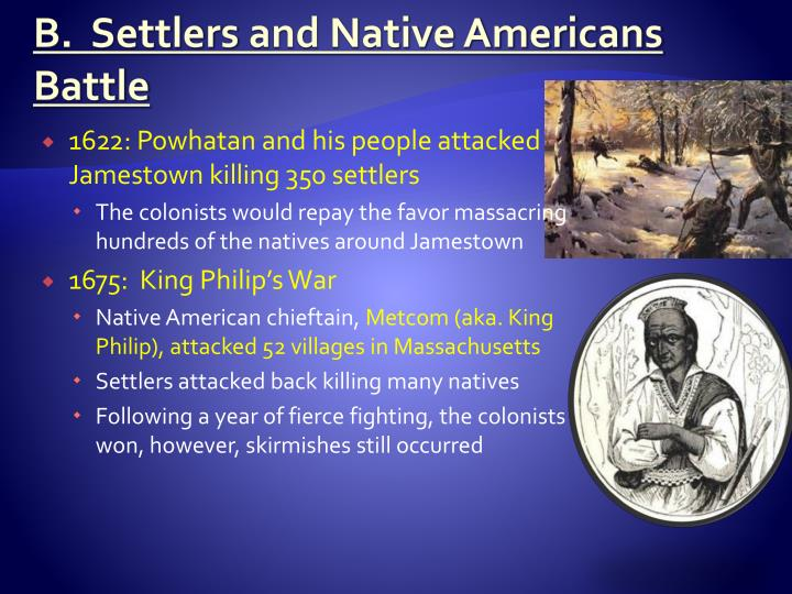 B.  Settlers
