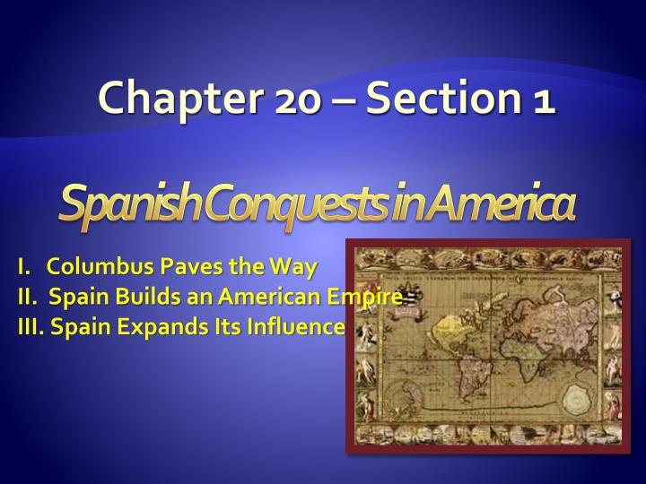 Chapter 20 section 1