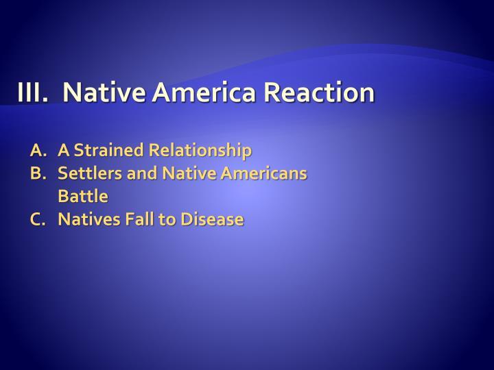 III.  Native