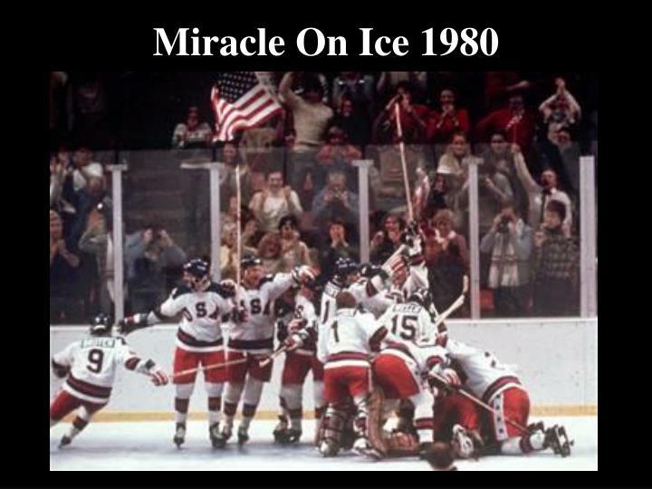 Miracle o n ice 1980
