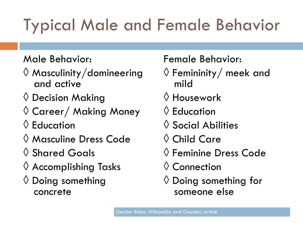 PPT - Gender behavior and identity in childrens books