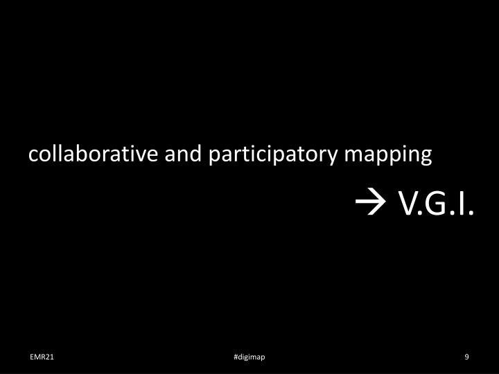 collaborative and participatory mapping