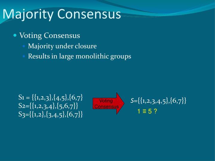 Majority Consensus