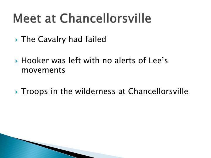 Meet at Chancellorsville