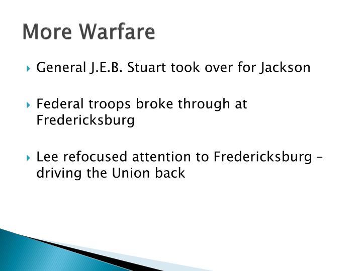 More Warfare