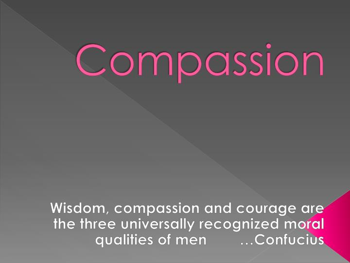 compassion n.