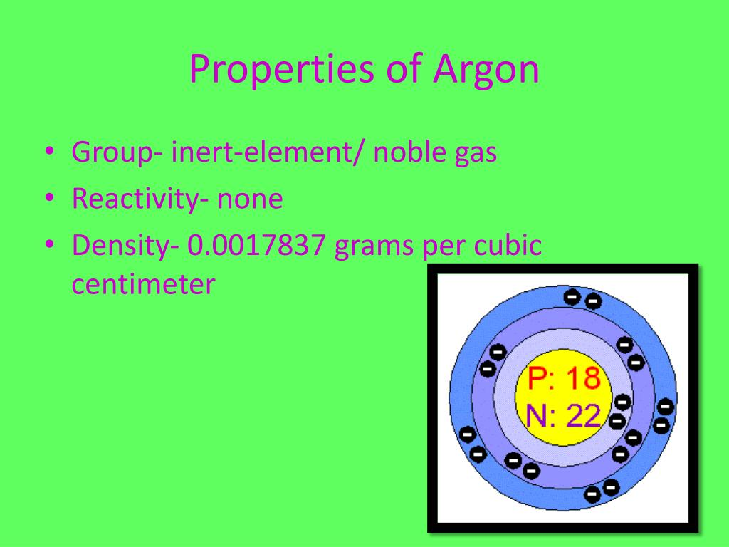 PPT - Argon PowerPoint Presentation - ID:1913556