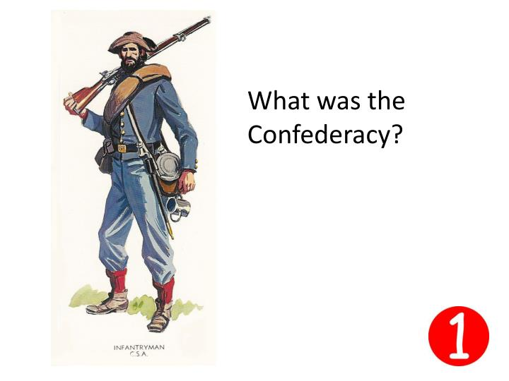 What was the Confederacy?