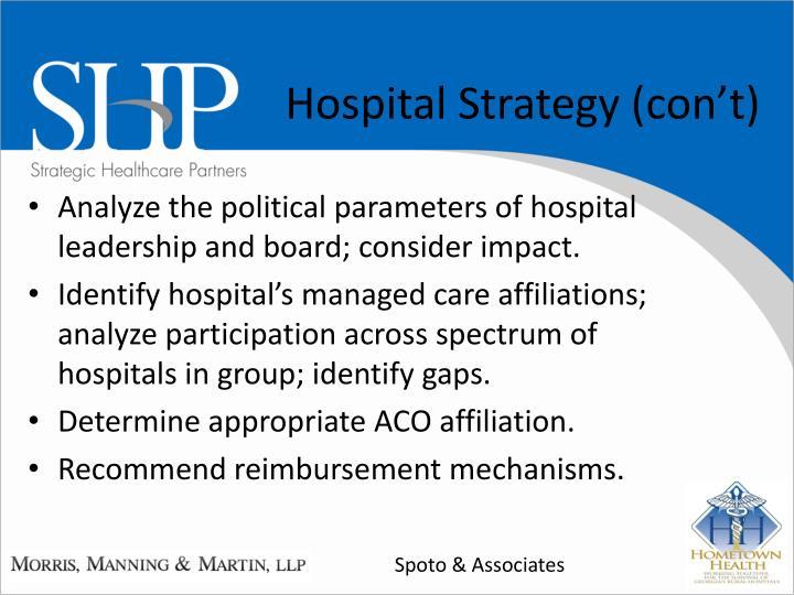 Hospital Strategy (