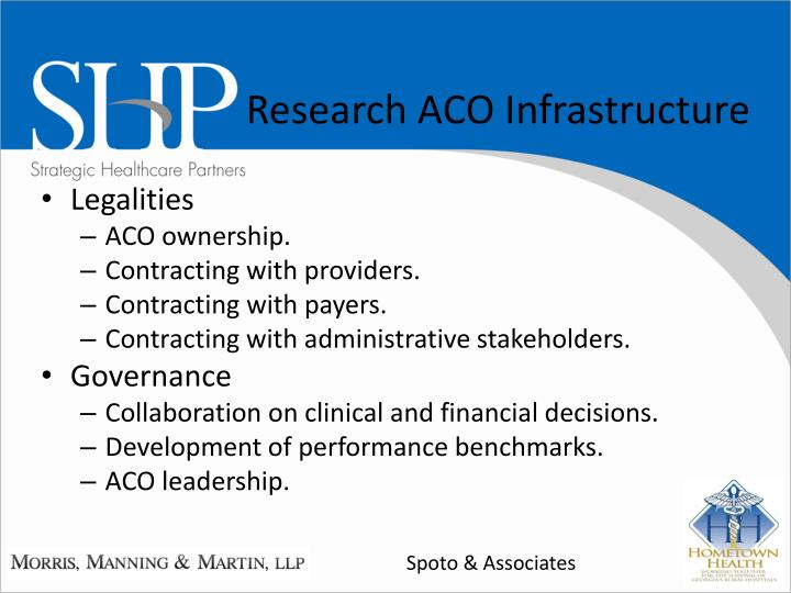 Research ACO Infrastructure