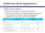 additional stack applications1