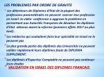 validation en israel des diplomes francais4