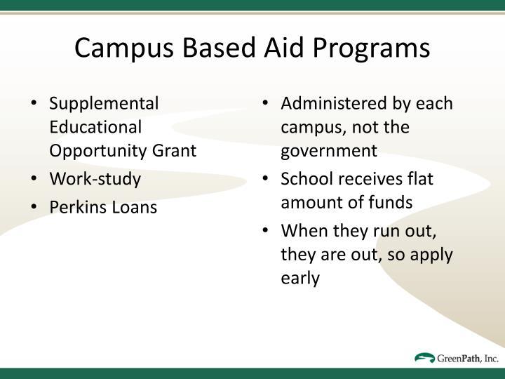 Supplemental Educational Opportunity Grant
