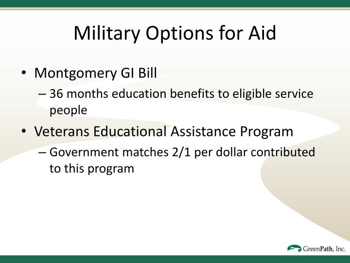 Military Options for Aid
