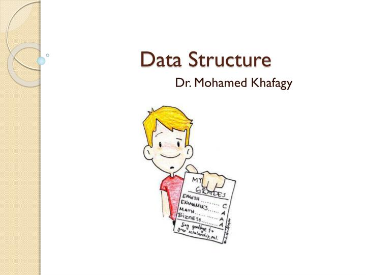 data structure n.