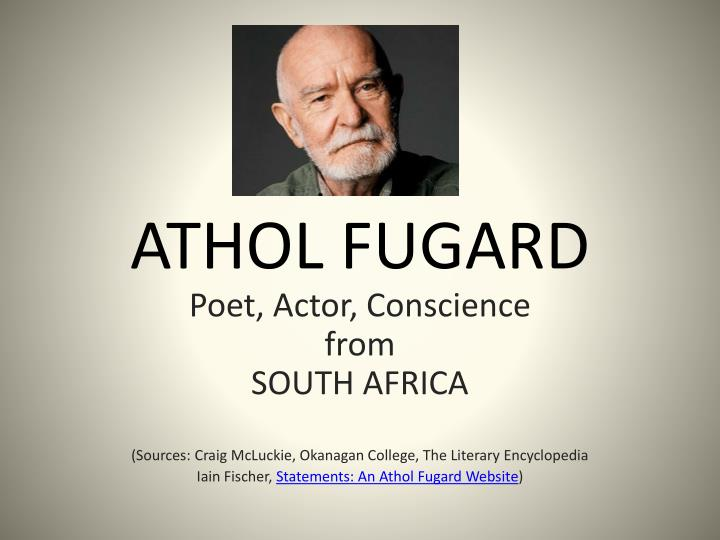 how does fugard convey the theme How does the author convey the theme to the author in our town - 8629592.