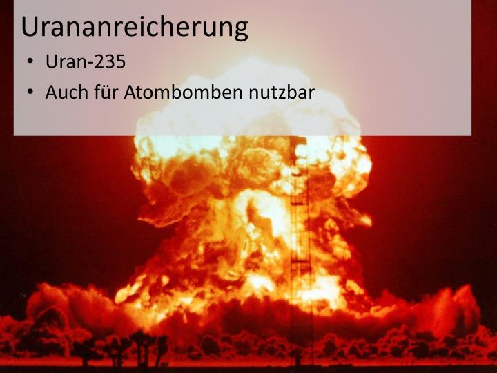 Urananreicherung