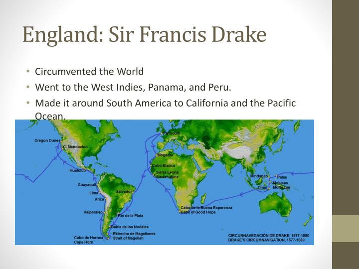 England: Sir Francis Drake