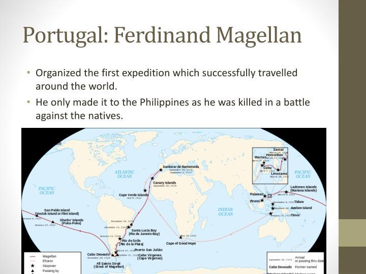 Portugal: Ferdinand Magellan