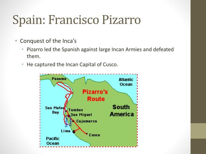 Spain francisco pizarro