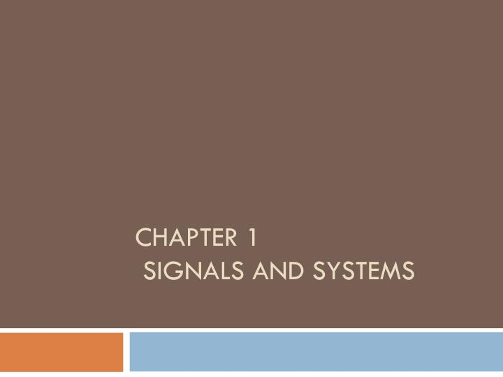 chapter 1 signals and systems n.
