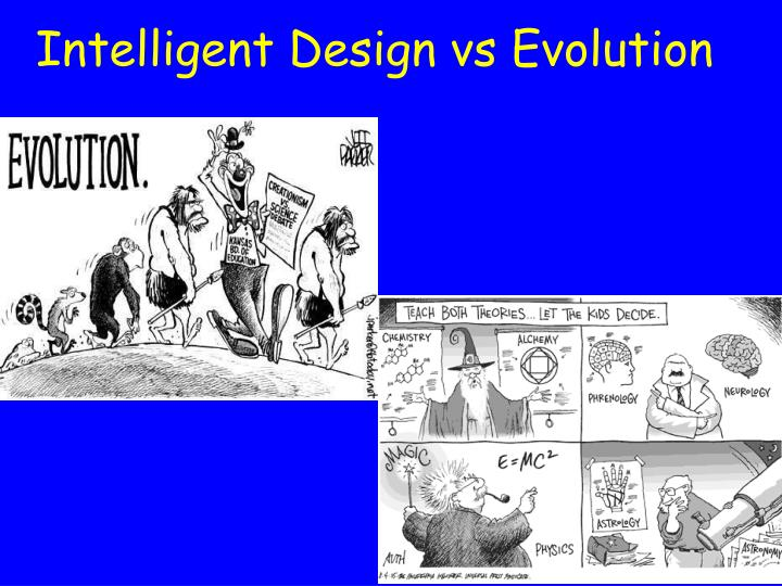 Intelligent Design vs Evolution