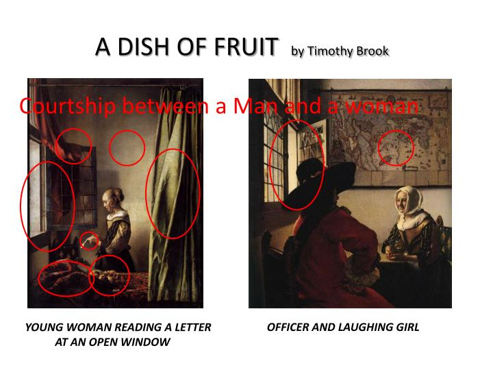A dish of fruit by timothy brook