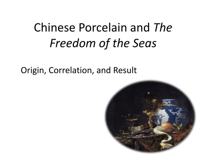 Chinese Porcelain and