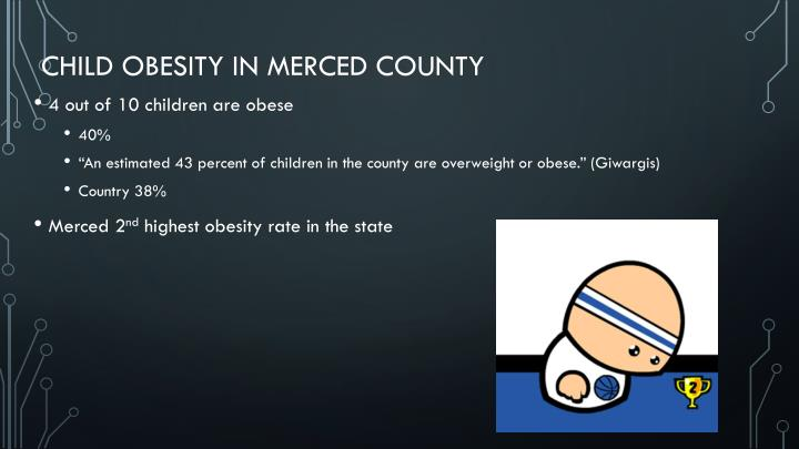 Child obesity in merced county