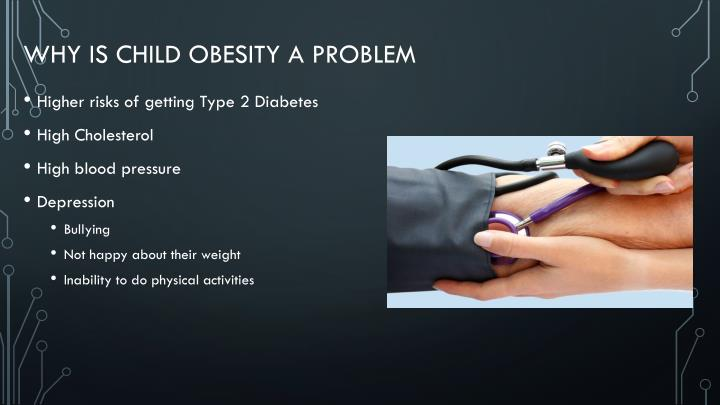 Why is child Obesity a Problem
