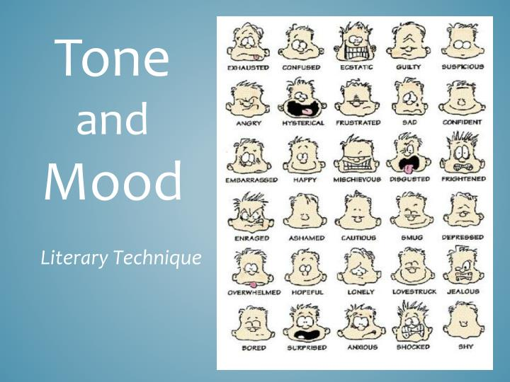 examples of tone and mood in poetry