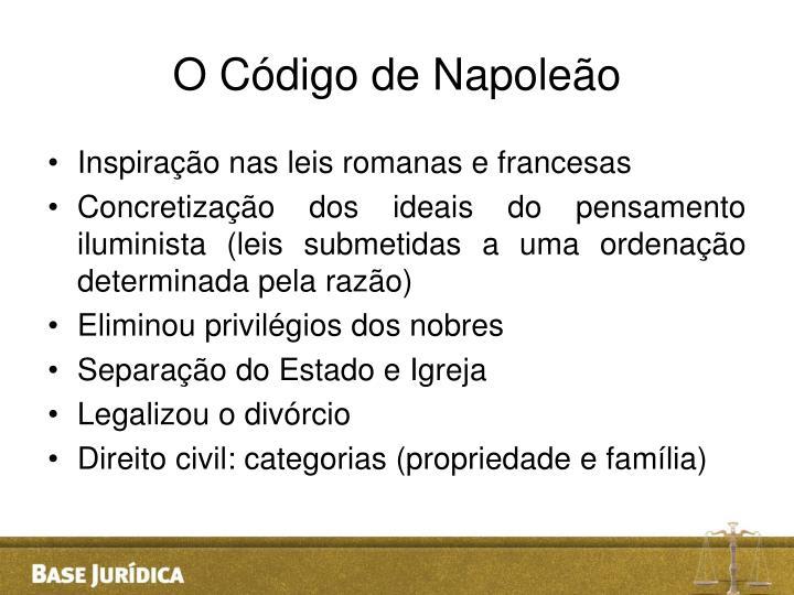 O Código de Napoleão