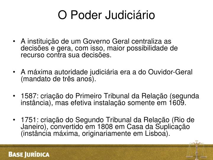 O Poder Judiciário