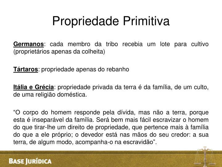 Propriedade Primitiva