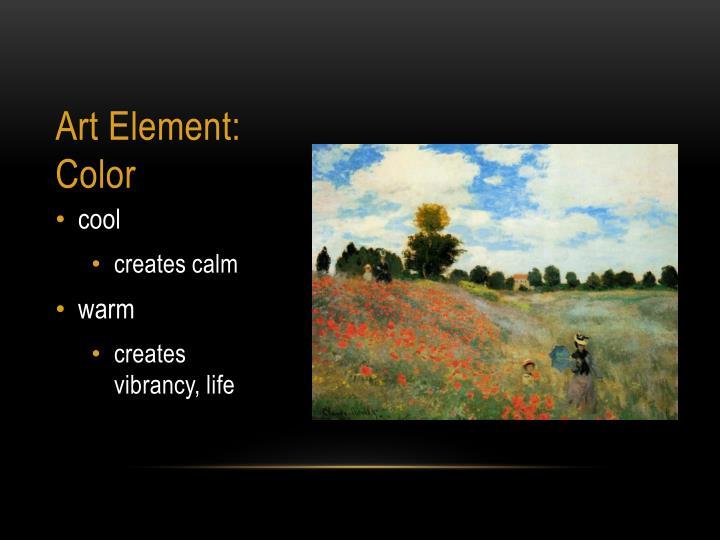 Art element c olor