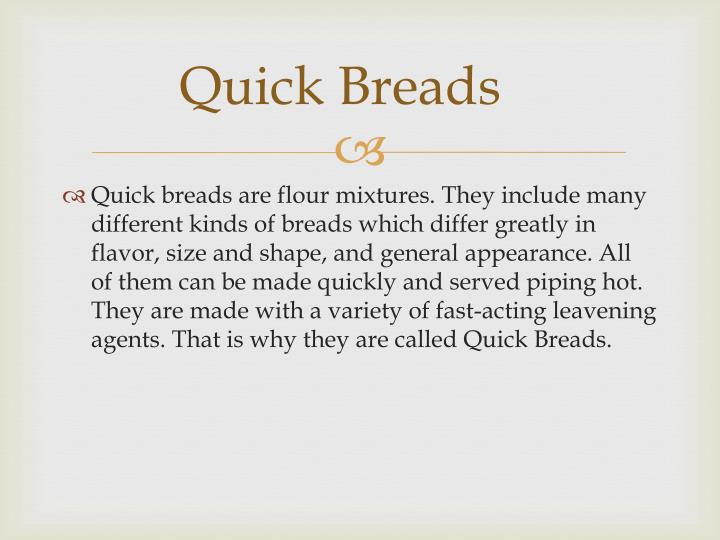 Quick breads1
