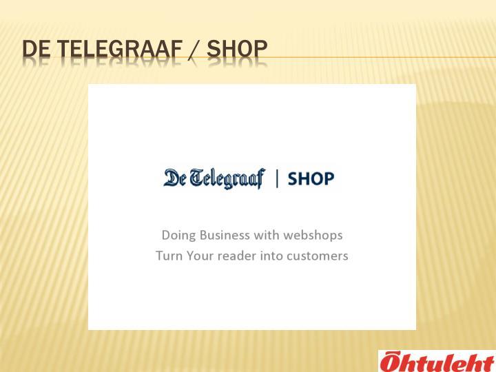 De Telegraaf / Shop