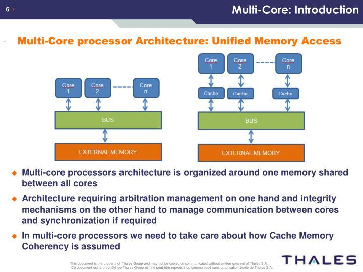 Multi-Core: Introduction