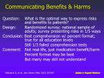 communicating benefits harms2